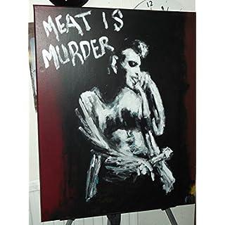 ARTRAX Morrissey, The Smiths, groß Malerei, 30x 24in in auf Leinwand, Handbemalt