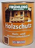 Frühling Holzschutz, Holz und Wetterschutzlasur, Farbton Eibe/1 Liter