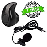 Starford Noise Cancellation Voice Recording Lavalier Microphone with Mini Clip & Invisible Wireless