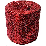 Set Of 6 Shining Cylindrical Candles Gift Box Candle(Red, Pack Of 6)