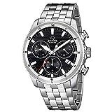 JAGUAR Herren Uhr Sport J687/D Edelstahl Armbanduhr Executive Silber UJ687/D