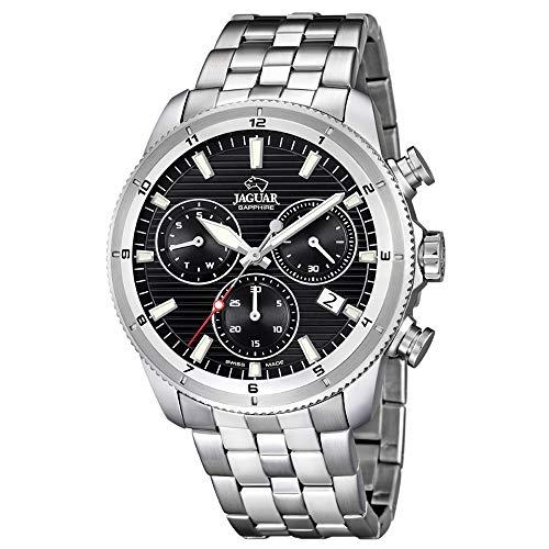Reloj Jaguar Hombre J687/D cronógrafo Esfera Negra 43.5 mm diámetro