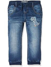 Name It Baby Boys' Nitajok Bag/Xr Dnm Pant W Art M Mini Jeans