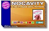 Nocavity Kit per Otturazioni Dentali Provvisorie. Isola da solo la cavità dentale e riduce il dolore in caso di perdita di otturazioni, piccole carie e denti rotti.