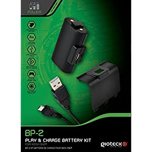 Gioteck Play & Charge Battery Kit BP-2 – [Xbox One]