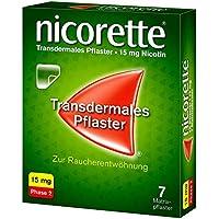 Preisvergleich für Nicorette TX 15 mg Pflaster, 7 St.