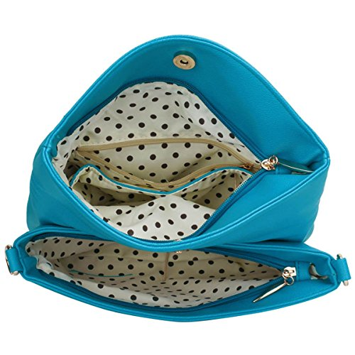 Xardi London, Borsa a spalla donna medium Teal