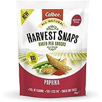 Harvest Snaps - Baked Pea Snacks - Paprika (12 bags of 85 grams)