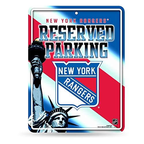 Unbekannt NHL Abonnements Metall Parken Schild, New York Rangers
