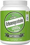 Maskelmän Bio Erbsenprotein Pulver Naturell - 82% Proteinanteil - 1000g