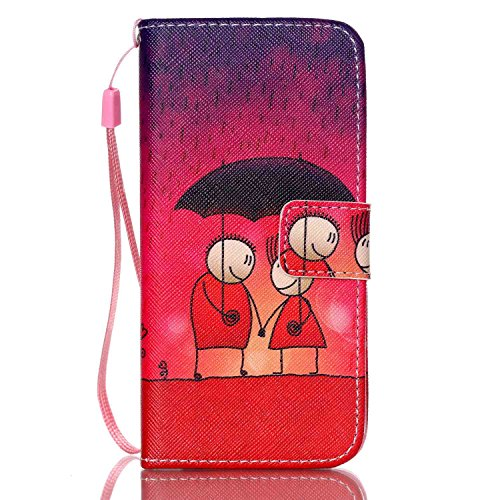 Custodia per iPhone 6 Plus Rosa,TOCASO Farfalla Dandelion Flip Case PU Pelle [Wallet Book Design] per iPhone 6s Plus 5.5 Portafoglio Cover Ultra Sottile Leather Protettivo Cases Covers Shell [Lanyard/ Stylish#18