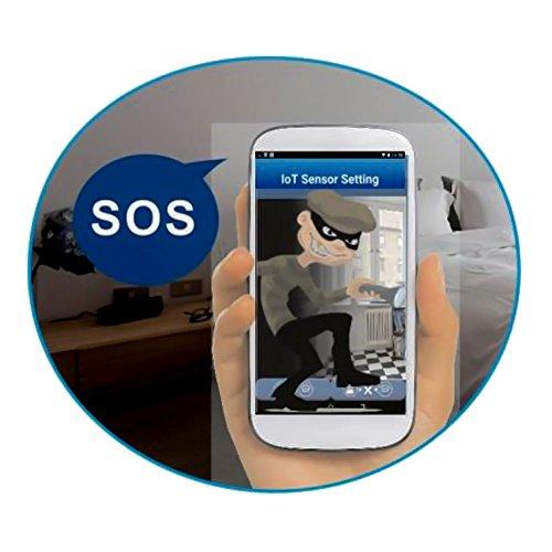 SWITEL  Digitales HD-Funküberwachungssystem, wetterfeste Außenkamera