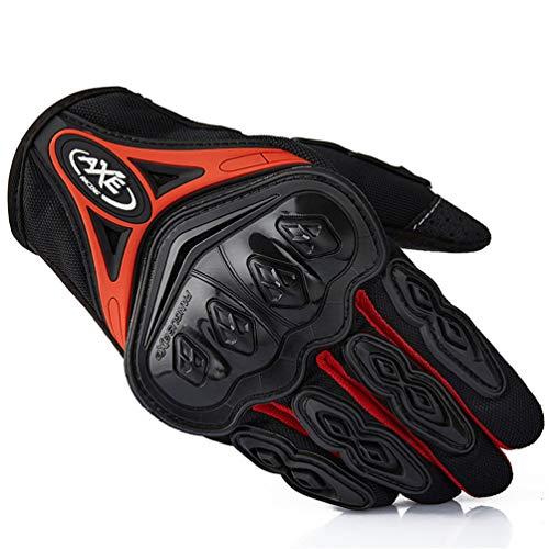 Adulto Full Finger Moto Moto Ciclismo Guanti Fuoristrada In Pelle Moto Guanto Motocross Handw