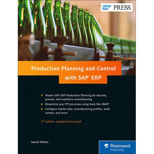 Production Planning and Control with SAP ERP por Jawad Akhtar