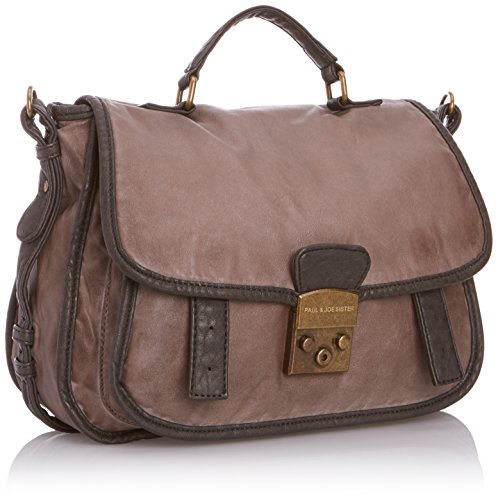 Paul & Joe Sister Chloe Anthracite, Borsa messenger donna antracite