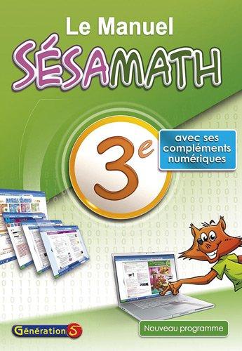 Le Manuel Sésamath 3e par Sésamath