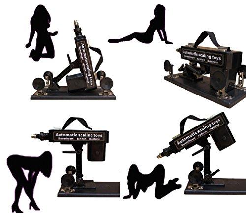 Fickmaschine Glückliche Standard Sex-Maschine Automatische Love Sex-Maschinengewehr mit Dildo , 3 Hubtiefen, frei einstellbar. Schwere standfeste Ausführung! Enorme Kraft schon im untersten Stoßbereich! Ein Echt Hochmoderner Freudenspender für Frauen von Likeep ! (Fickmaschin für Frau) - 6