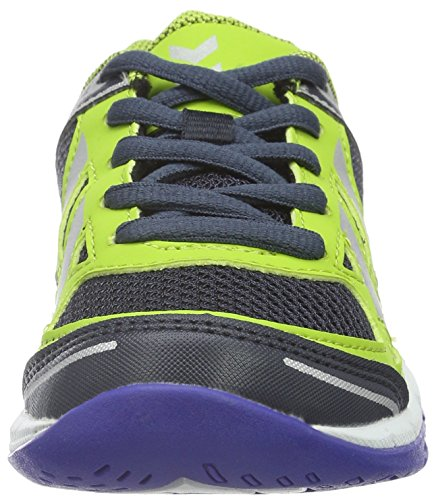Hummel Omnicourt Z4, Chaussures de Handball Garçon Vert (Surf The Web)