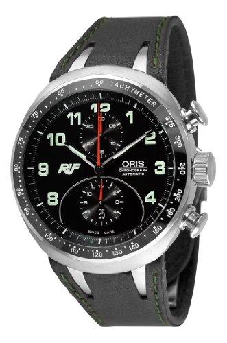 Oris-Herren-67376117084LS-Ruf-CTR-3-Chronograph-Limited-Edition-Black-Zifferblatt