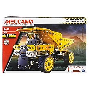 MECCANO-6042093-Juego de construcción-Camión volquete de construcción