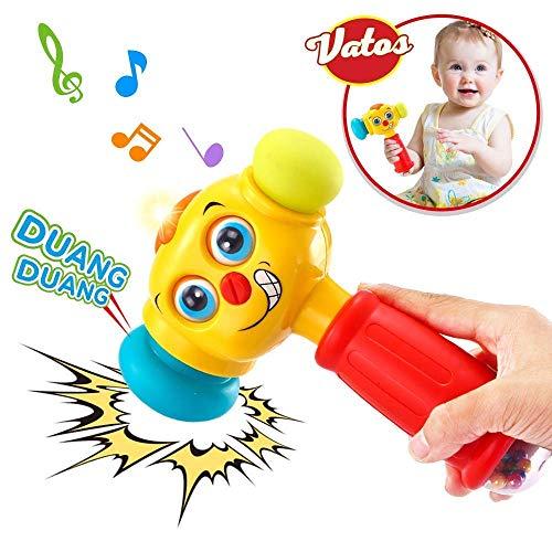 VATOS Bebé Martillo Juguete Bebé Juguetes Ligero y Musical...