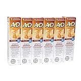 A + D Salbe für behandeln der Windeldermatitis–Originelle Formel, Angereichert mit Vitaminen A und D–42,5g