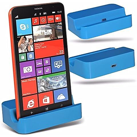 Blackview 5000 - Micro USB Desktop Dock di ricarica Monte stand - Blue