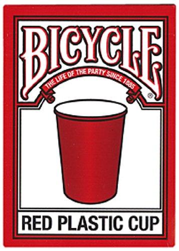 Preisvergleich Produktbild Fahrrad roten Plastikbecher Spielkarten Bicycle Red Plastic Cup Playing Cards