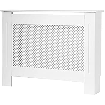 meuble cache radiateur forest en mdf blanc laqu taille. Black Bedroom Furniture Sets. Home Design Ideas