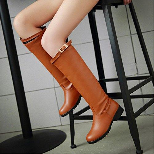 ZQ@QXIl nostro codice con scarpe basse manicotto tall stivali scarpe code yellow