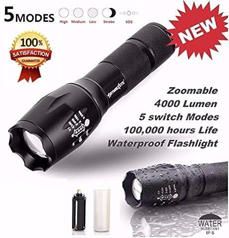 Internet 4000 Lumens G700 Tactical LED CREE XM-L T6 lampe