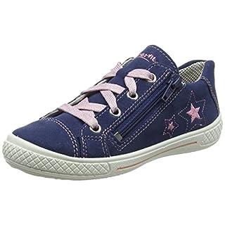 Superfit Mädchen Tensy Sneaker, Blau (Water Multi), 35 EU