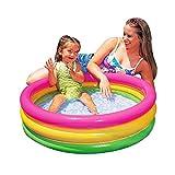 PMFS Round Regenbogenwasser-Spielpool Badezimmer-Baby-Badewanne scherzt Ballgrubensommergeschenke