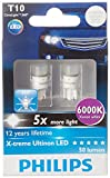 #6: Philips T10 X-treme Ultinon 127996000KX2 LED Car Lamp (12V, 1W)