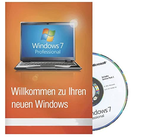 Microsoft Windows 7 Professional 64 Bit MAR Refurbished inkl. Service Pack 1 Deutsch