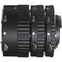 Fotga Auto Focus - Tubo de Extensión Macro (12 mm, 20 mm, 36 mm) para Cámaras Réflex Digitales Nikon D7500 D7200 D7100 D7000 D5600 D5300 D5200 D5100 D5000 D3100 D3000 D800 D600 D300s D300 D90 D80