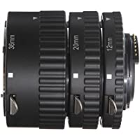 Fotga Auto Focus Makro Extension Tube Zwischenringe (12 mm 20 mm 36 mm) für Nikon D7500 D7200 D7100 D7000 D5600 D5300 D5200 D5100 D5000 D3100 D3000 D800 D600 D300S D300 D90 D80 Digital SLR Kameras
