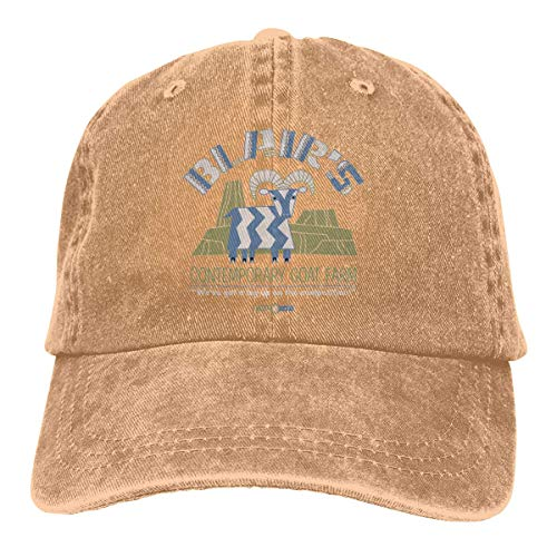 momnn Blairs Goat Farm Summer Cool Heat Shield Unisex Adult Cowboy Hat