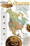 North American Indian Cultures, tubed : Wall Maps History & Nature: NG.PTH620319 (Reference - History & Nature)
