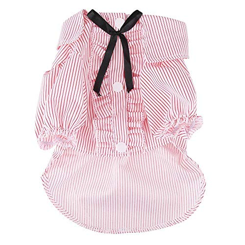 dung, Hundekatze Hemden Nettes Welpen-Kätzchen-T-Shirt(S-Rosa) ()