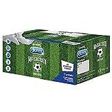Durex Magic Box Edizione Limitata Mondiali 3 Varietà di Preservativi Sync Performa e Pleasuremax con Sottobicchieri in Omaggio, 72 Pezzi
