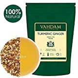 VAHDAM, Turmeric Ginger Herbal Tea Tisane (100 Cups), 100gm (Set of 2),India