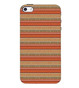 PrintDhaba Pattern D-5273 Back Case Cover for APPLE IPHONE 5 (Multi-Coloured)