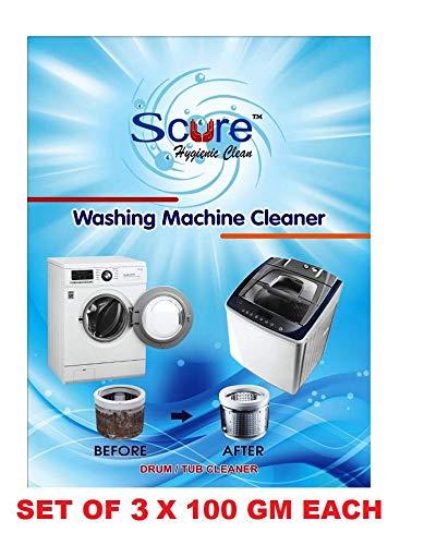 Generic Secure Washing Machine Tub/drum Cleaning Powder/Descaler (300g, White)