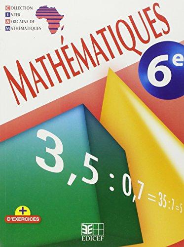 Mathematiques 6e Ciam Ned Eleve par (Belle reliure - May 14, 2008)