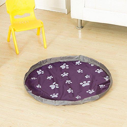 yazi-tapis-de-jeu-portable-pour-enfants-avec-sac-de-rangement-violet-80-cm