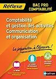 Comptabilité et gestion des activités Communication et organisation - BAC PRO Comptabilité