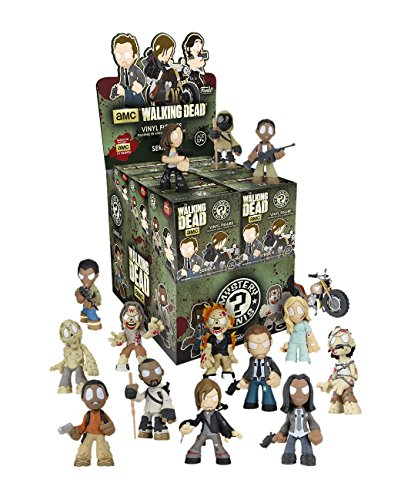 Funko - Figurine Walking Dead Mystery Minis serie 4 - 1 boîte au hasard / one Random box - 0849803072421