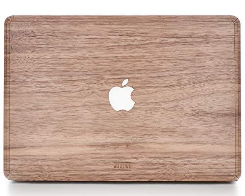 "Woodwe MacBook Skin Sticker für Mac Air 13\"" - Modell: A1237 / A1304 / A1369 / A1466; Anfang 2008 - Anfang 2015 - echtes & natürliches Walnussholz, TOP Cover"