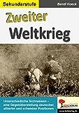 Zweiter Weltkrieg: Eine Gegenüberstellung deutscher, alliierter & schweizer Positionen